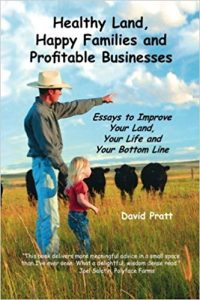 Healthy Land, Happy families and Profitable Businesses book cover.