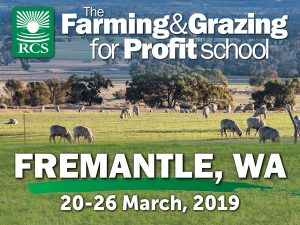 Farming and Grazing for Profit Fremantle. Sheep grazing in a paddock.