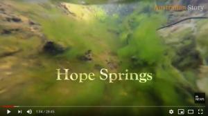 Hope Springs. Screen shot of Australian Story episode.