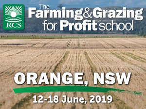 The Farming and grazing for profit school Orange, NSW. Wheat stubble with sheep graing in the background.