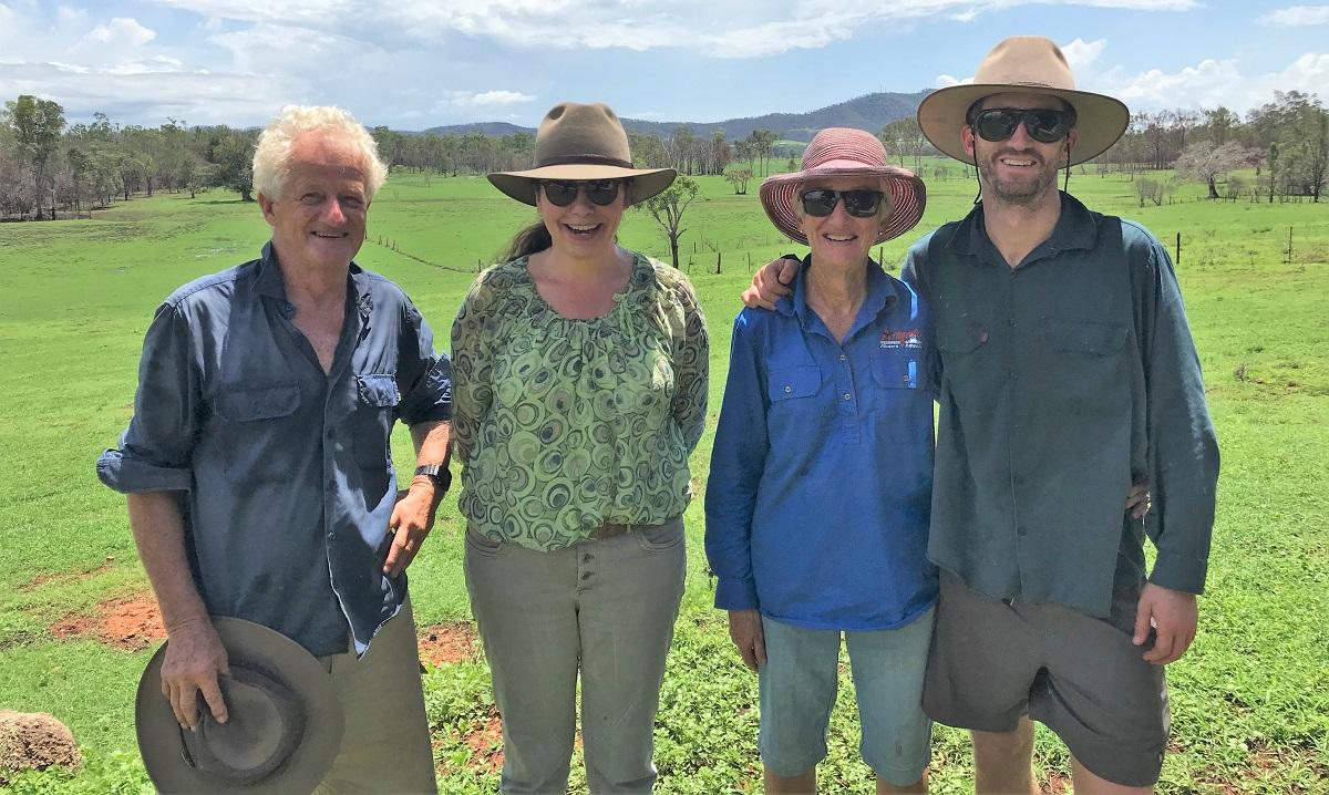 Christine Bajohr and the Appleton Family