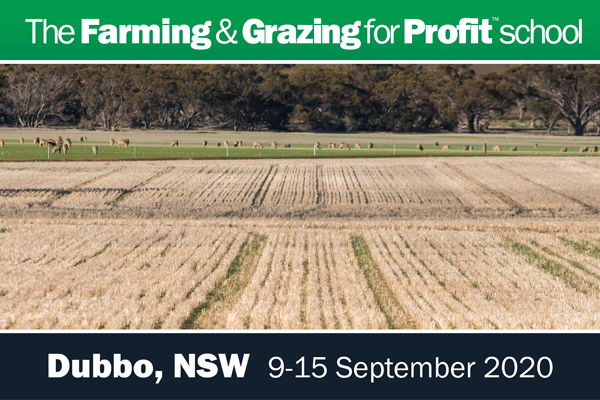 Dubbo Farming and Grazing for Profit School