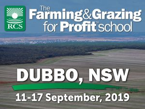 The farming and grazing for profit school, Dubbo. Aerial view of wheat crop.