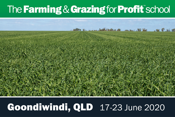 Goondiwindi Farming and Grazing for Profit School