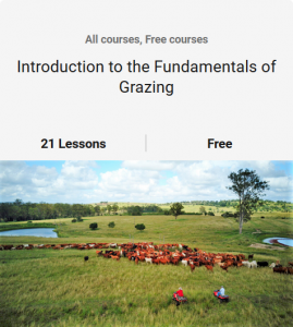 Introduction to the Fundamentals of Grazing