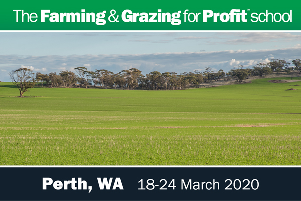 Perth Farming and grazing for profit school