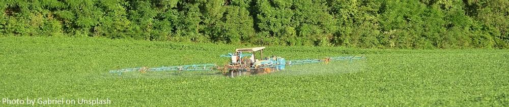 assess stock supplies for crop spraying