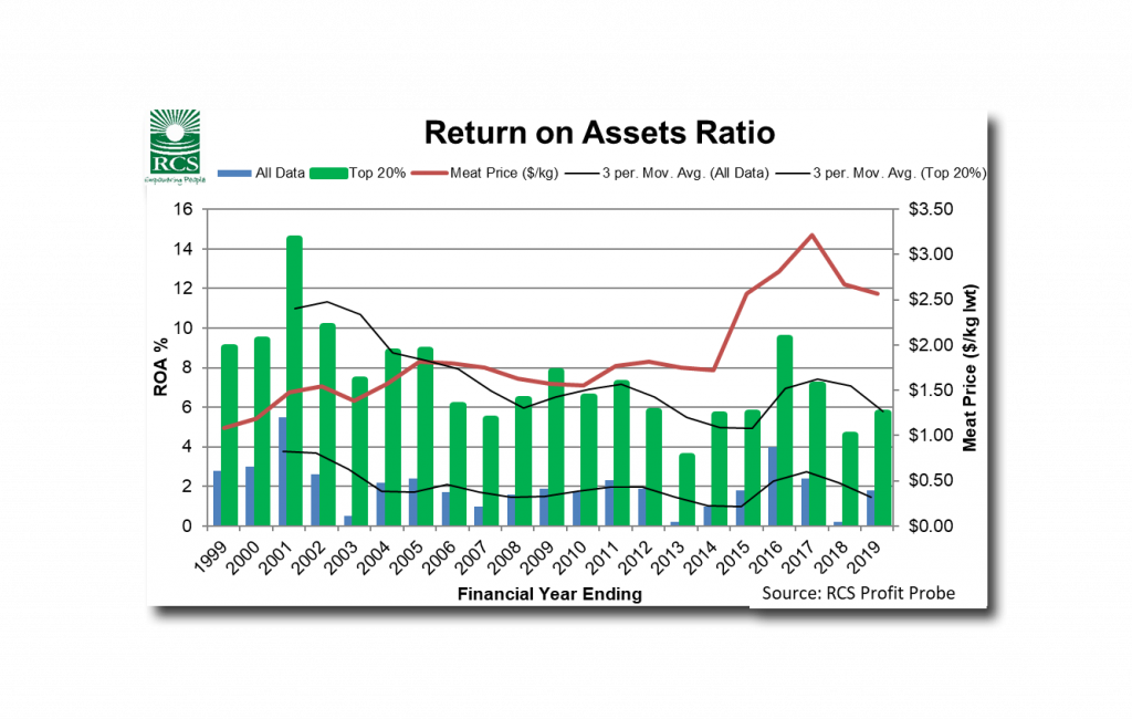 Return on Assets Ratio Graph