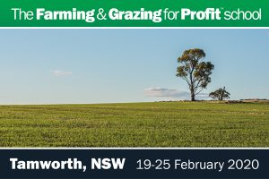 Tamworth Farming and Grazing for Profit School. The school for success in regenerative agriculture.